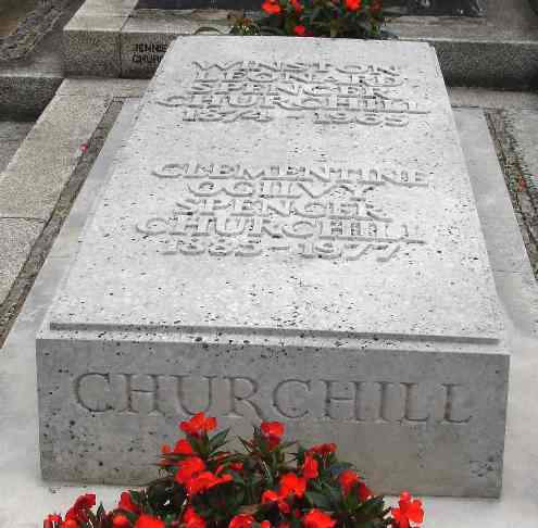 Churchill Burial Place