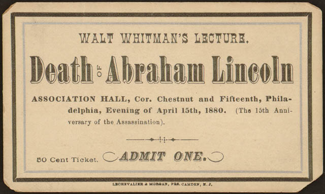Abe lincoln death date
