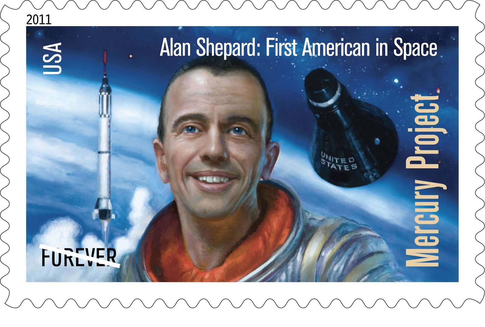 Image result for Alan Shepard became the first American in space