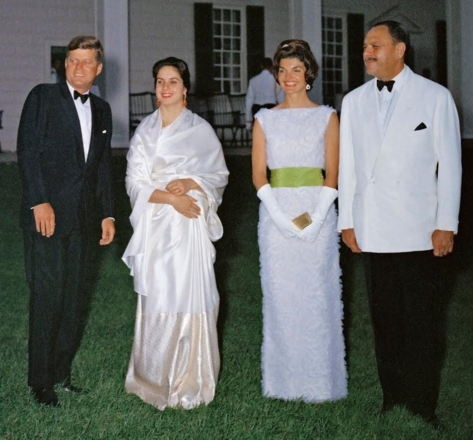State Dinner Held At Mount Vernon For President Khan Of Pakistan