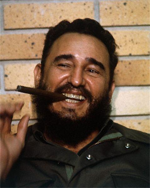Cuba in the Cross fire 478px-fidelcastrosmiling