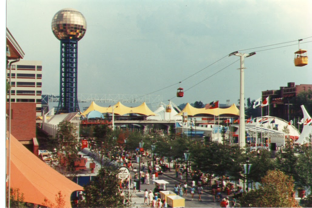 jfk50 remembers the opening of the 1982 worlds fair knoxville